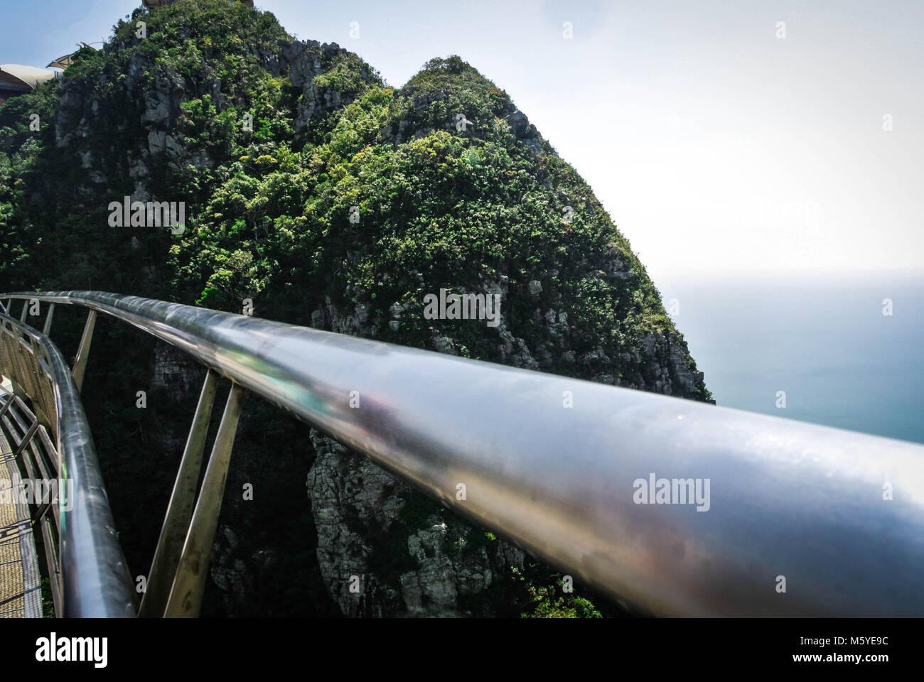 Langkawi Skybridge View - Stock Image