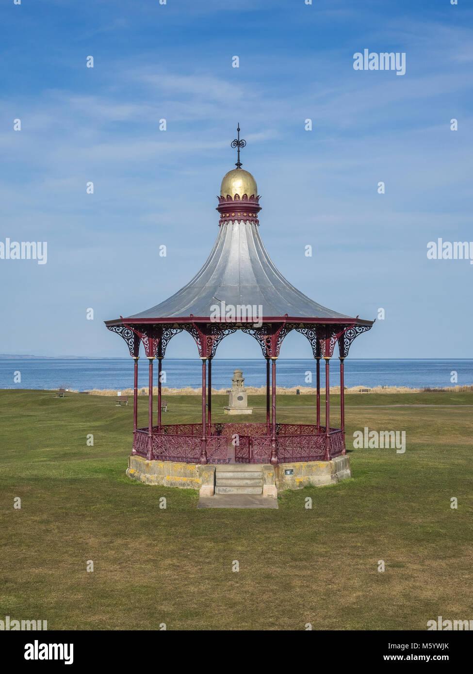 The Wallace Bandstand, Marine Road, Nairn, Highland Region, Scotland, UK - Stock Image