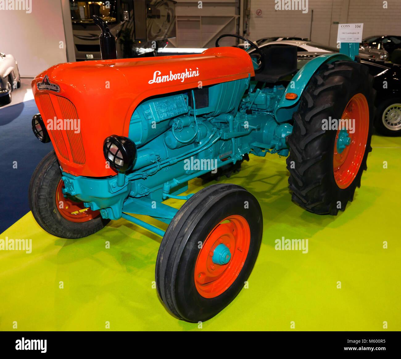 Lamborghini Tractor Stock Photos & Lamborghini Tractor Stock
