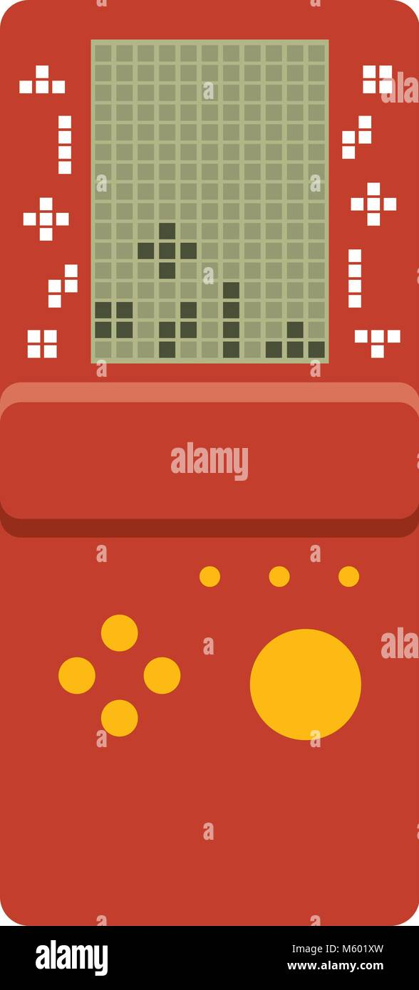 Classic Tetris Game Stock Photos & Classic Tetris Game Stock