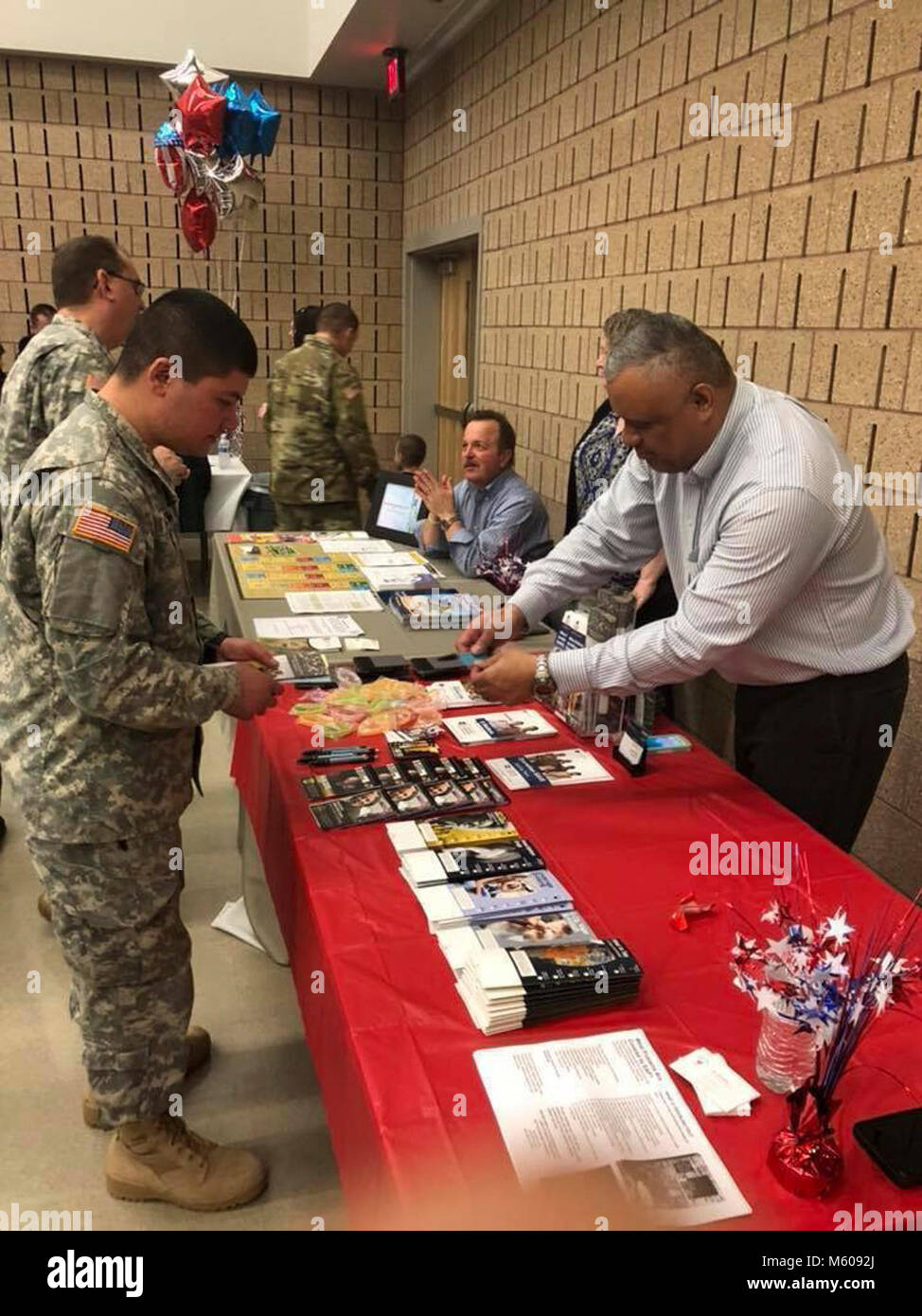 Family and friends bid farewell to more than 100 Army