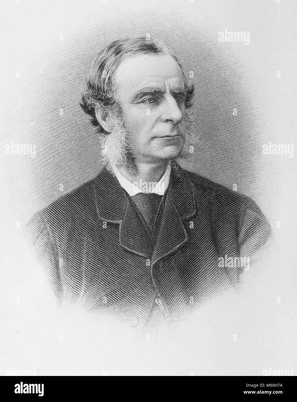 CHARLES KINGSLEY (1819-1875) English social reformer and novelist - Stock Image