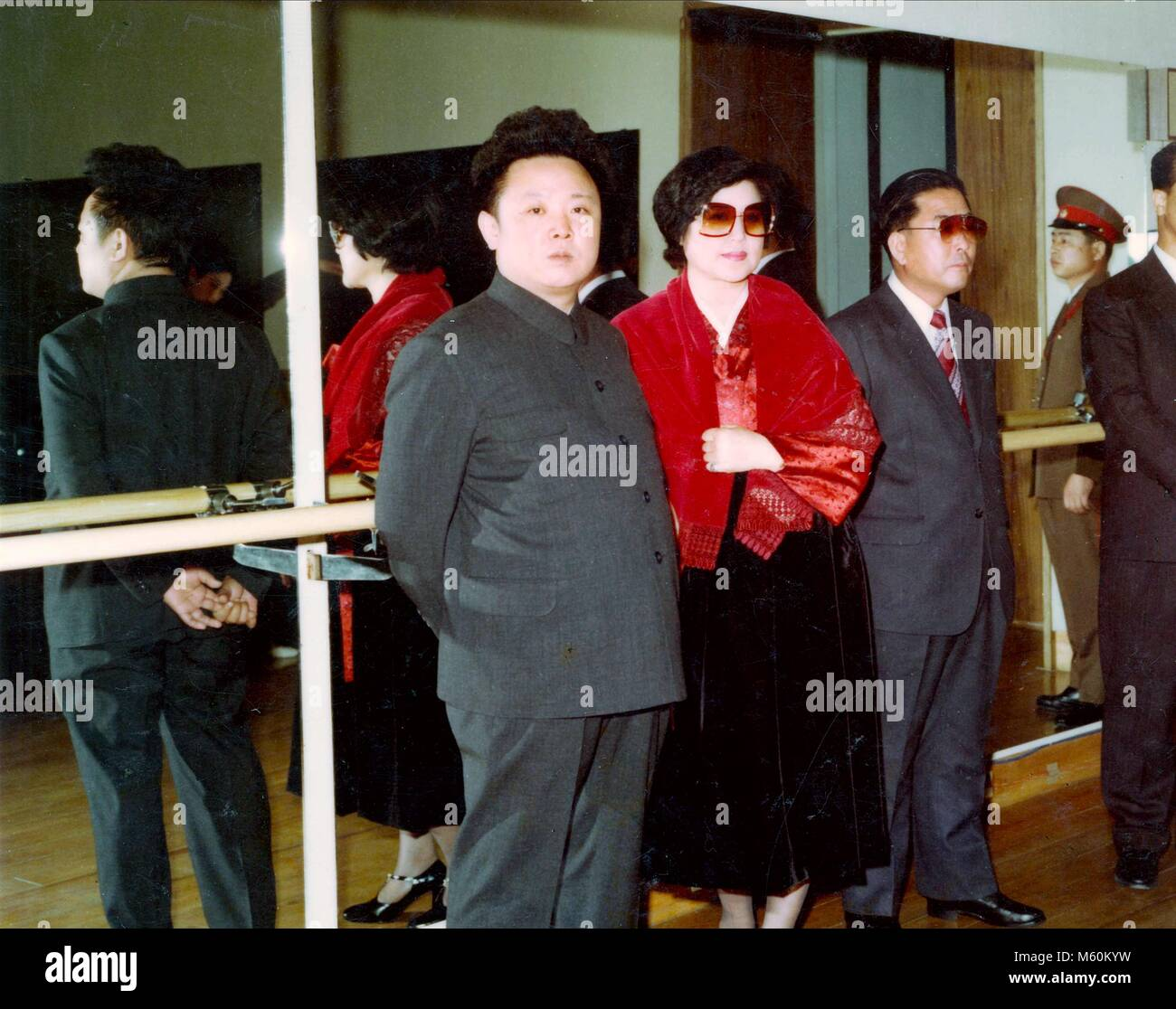 KIM JONG-IL & CHOI EUN-HEE THE LOVERS AND THE DESPOT (2016) - Stock Image