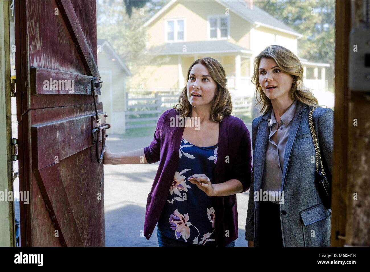 LORI LOUGHLIN GARAGE SALE MYSTERY: GUILTY UNTIL PROVEN INNOCENT (2016) - Stock Image