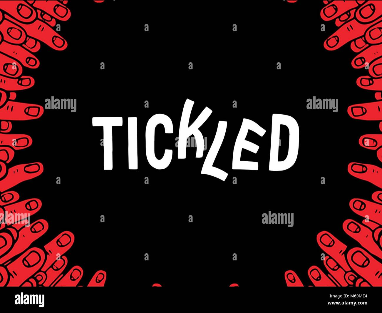 MOVIE POSTER TICKLED (2016) - Stock Image