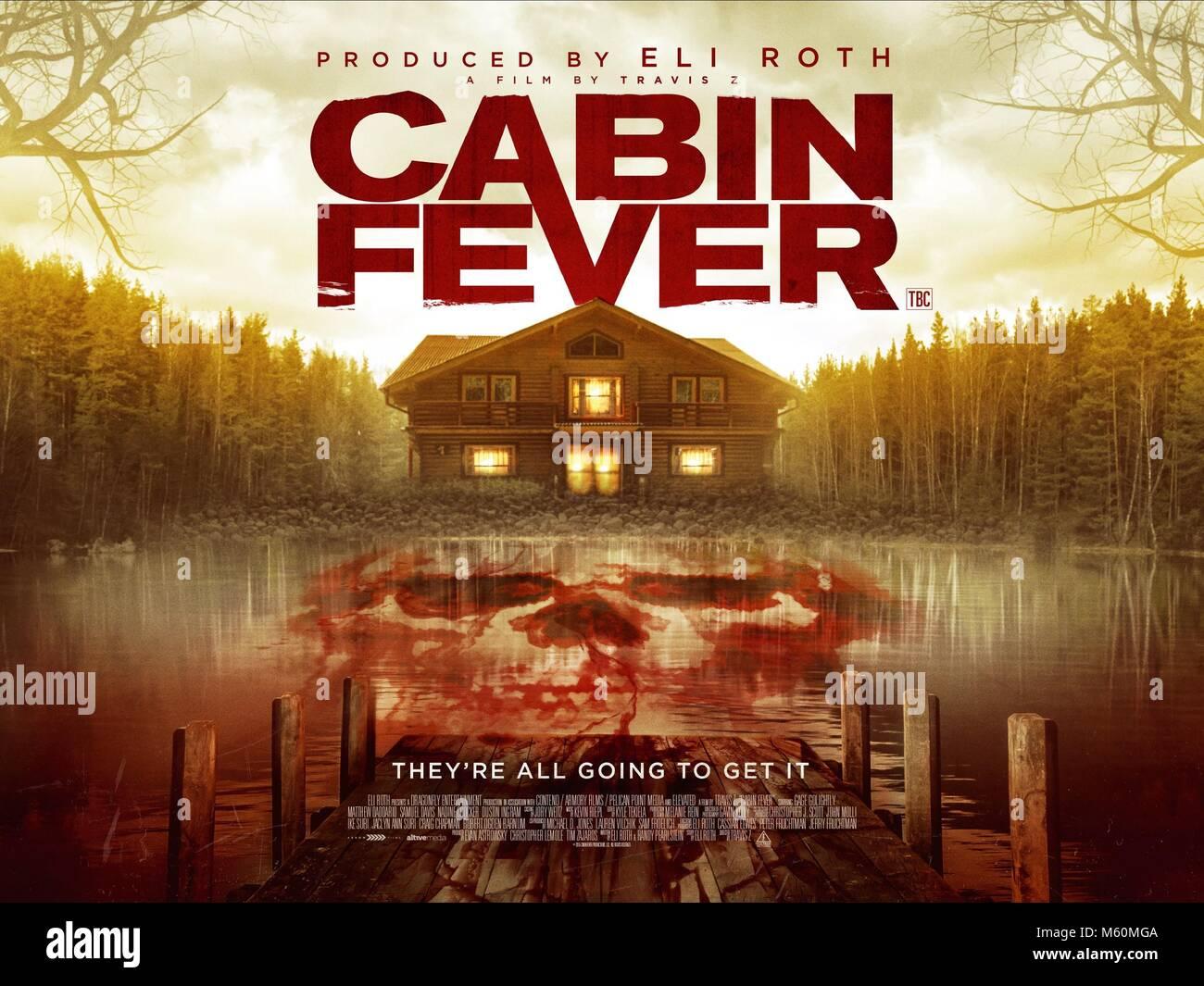Cabin Fever Patient Zero Poster