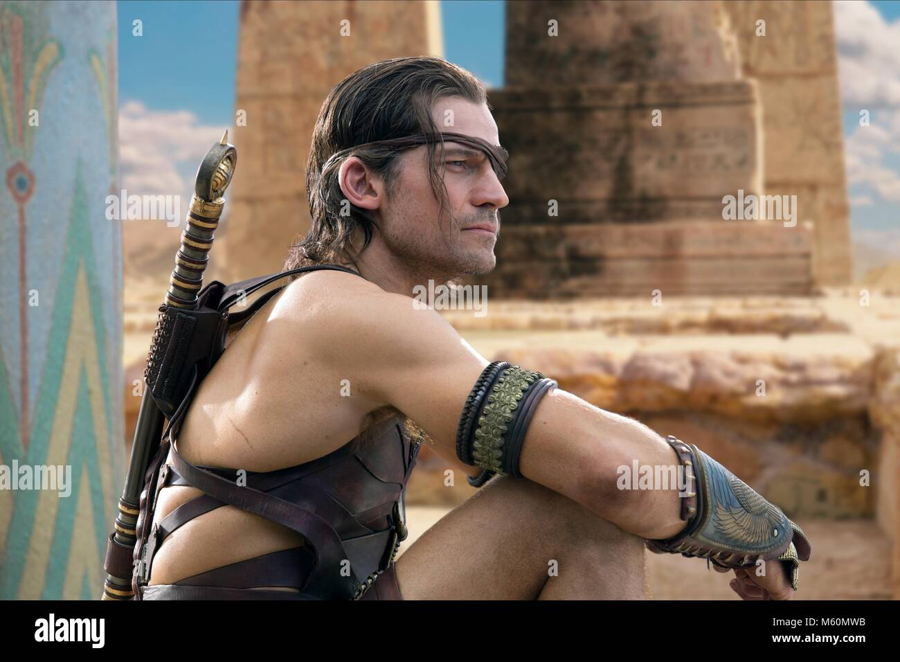 NIKOLAJ COSTER-WALDAU GODS OF EGYPT (2016) - Stock Image