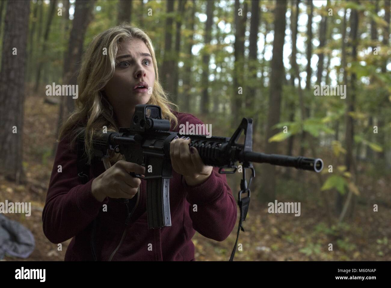 CHLOE GRACE MORETZ THE 5TH WAVE (2016) - Stock Image