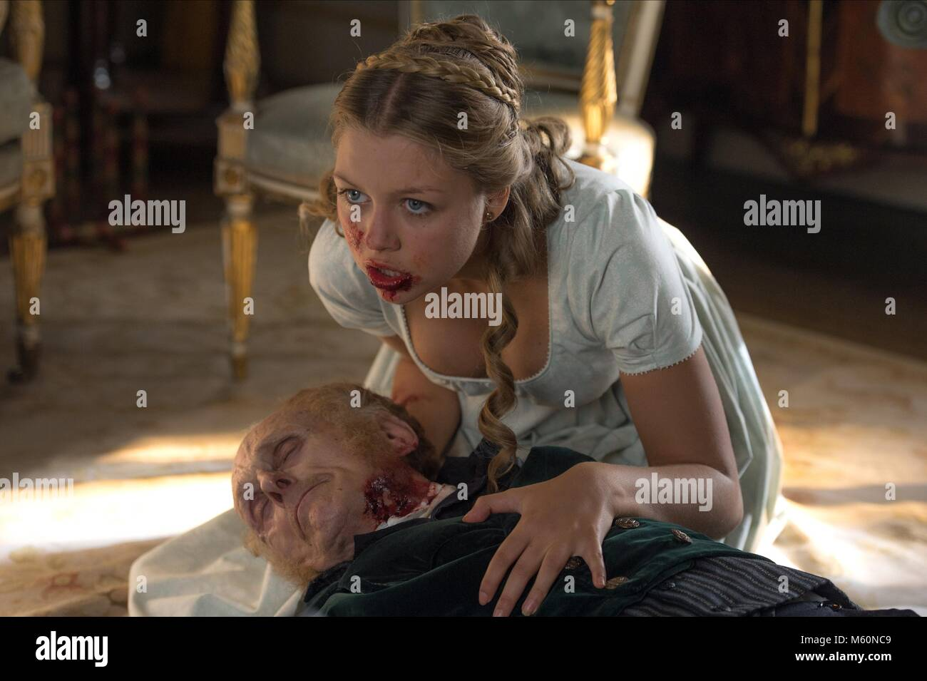 JESS RADOMSKA PRIDE AND PREJUDICE AND ZOMBIES (2016) - Stock Image