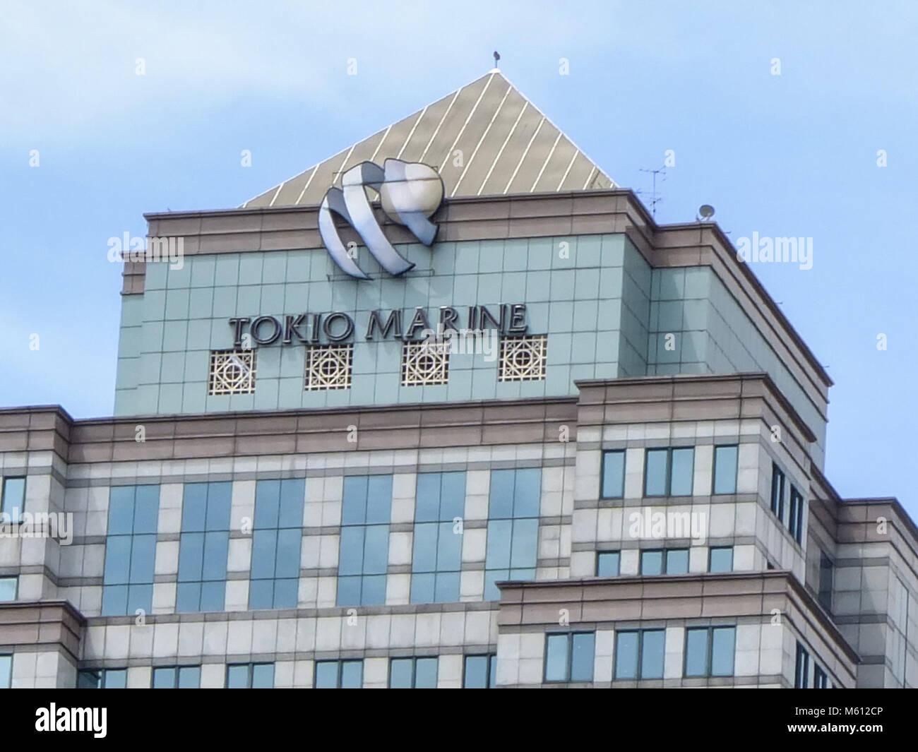 Kuala Lumpur Malaysia 28th Feb 2018 Tokio Marine Building Is Seen Stock Photo Alamy