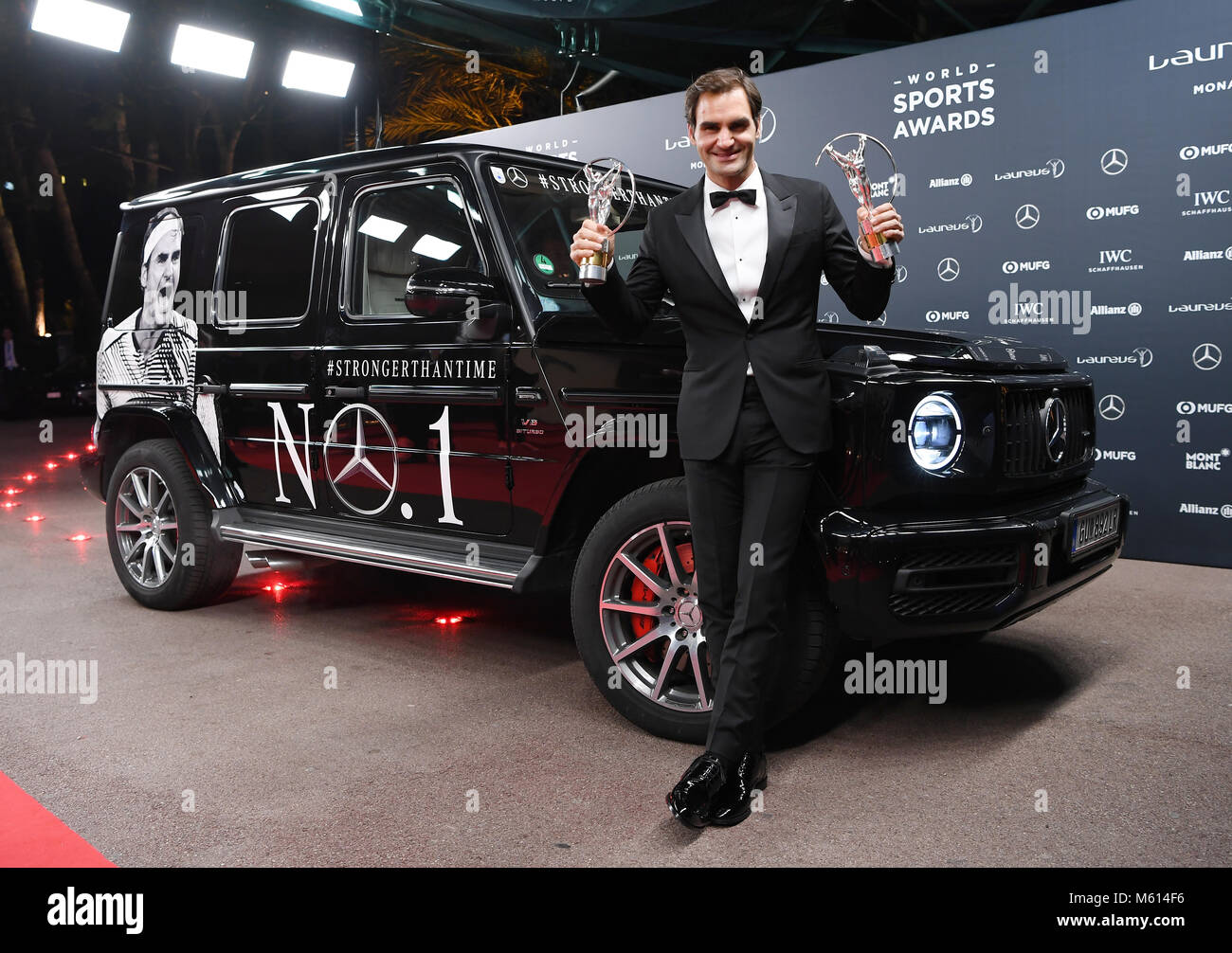 G63 stock photos g63 stock images alamy for Garage mercedes monaco