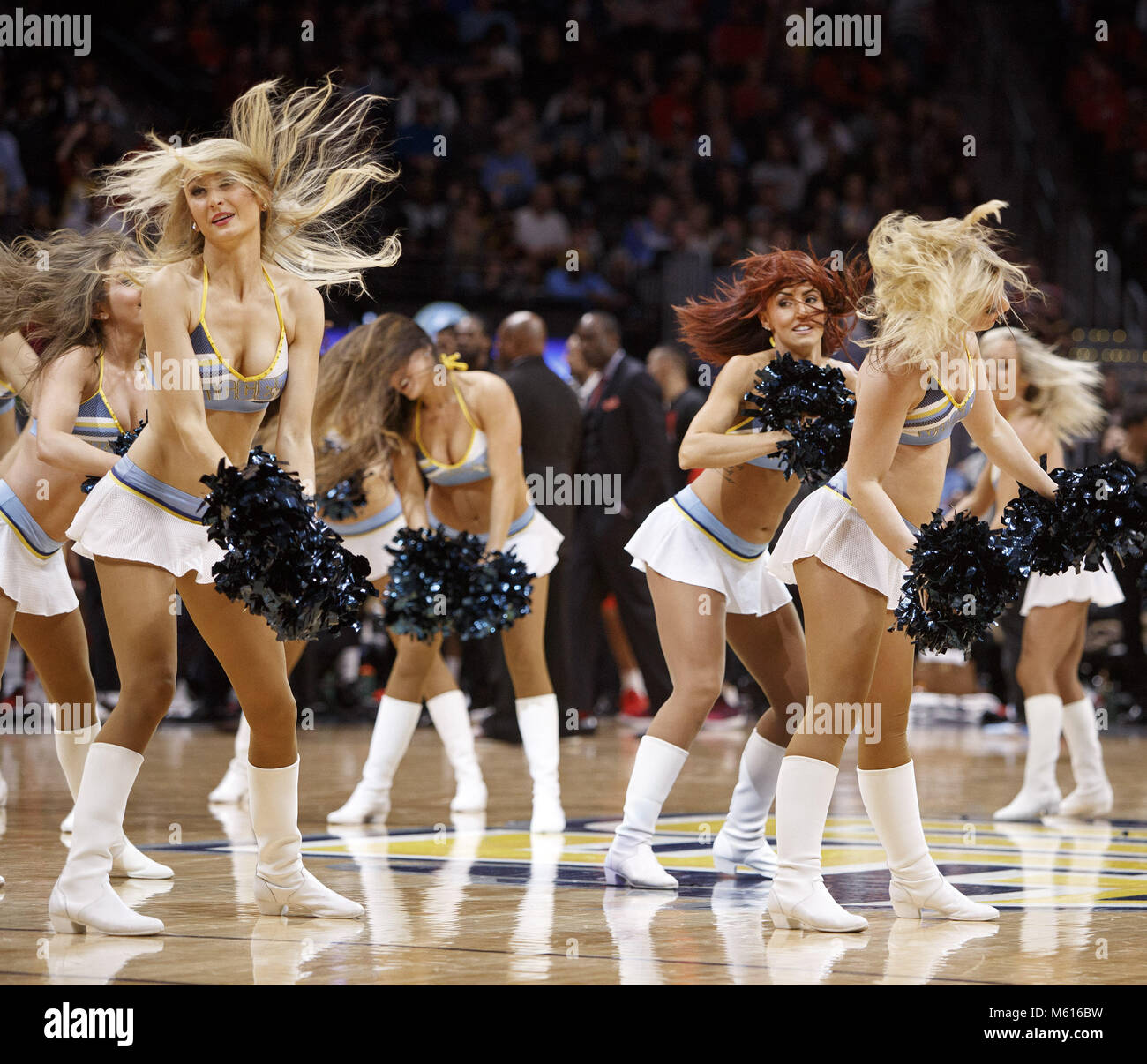 Denver Nuggets Dancers: 2018 119 Jpg Stock Photos & 2018 119 Jpg Stock Images