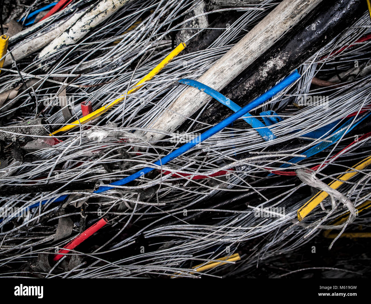 Damaged Wire Stock Photos & Damaged Wire Stock Images - Alamy