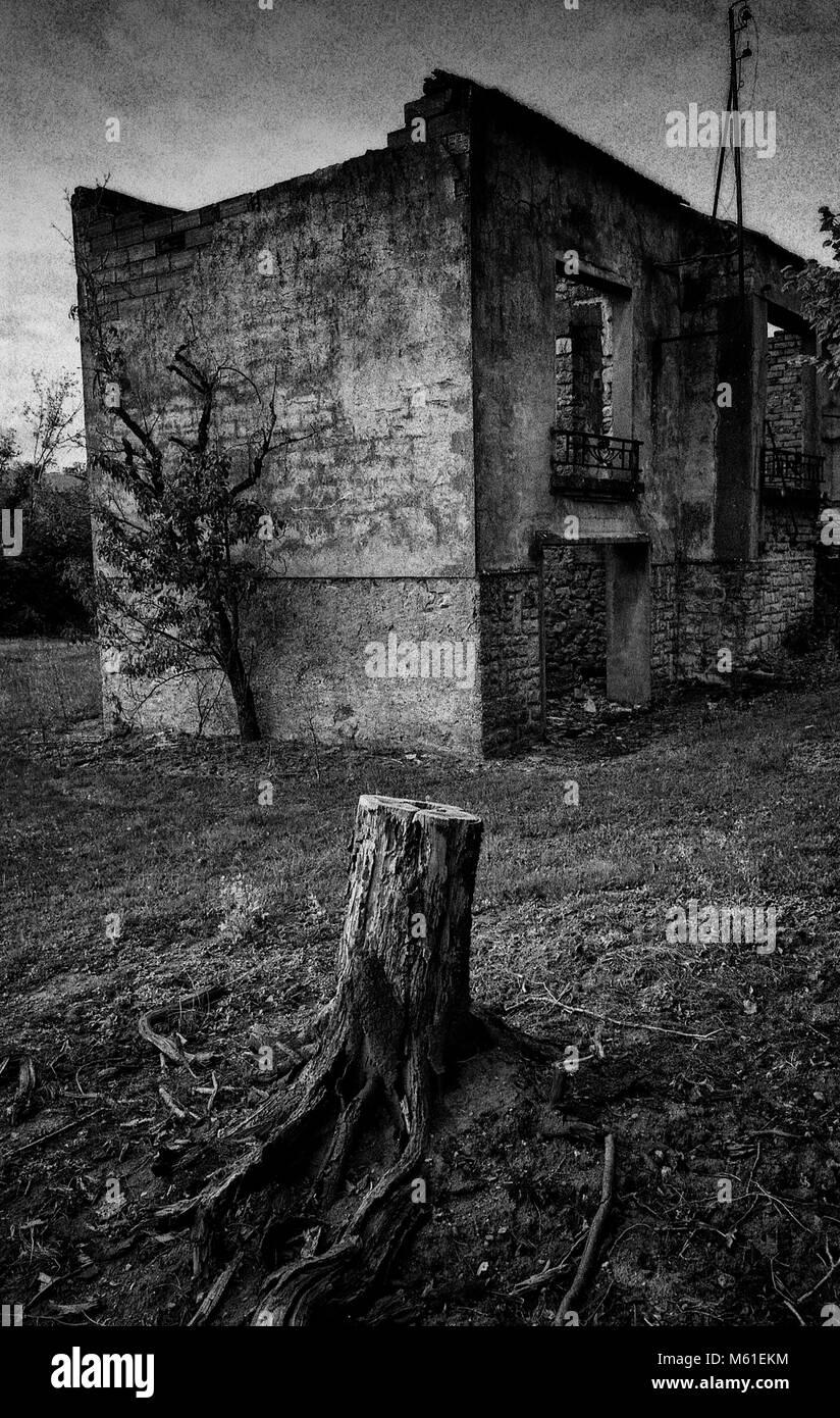 Oradour Sur Glane - Stock Image
