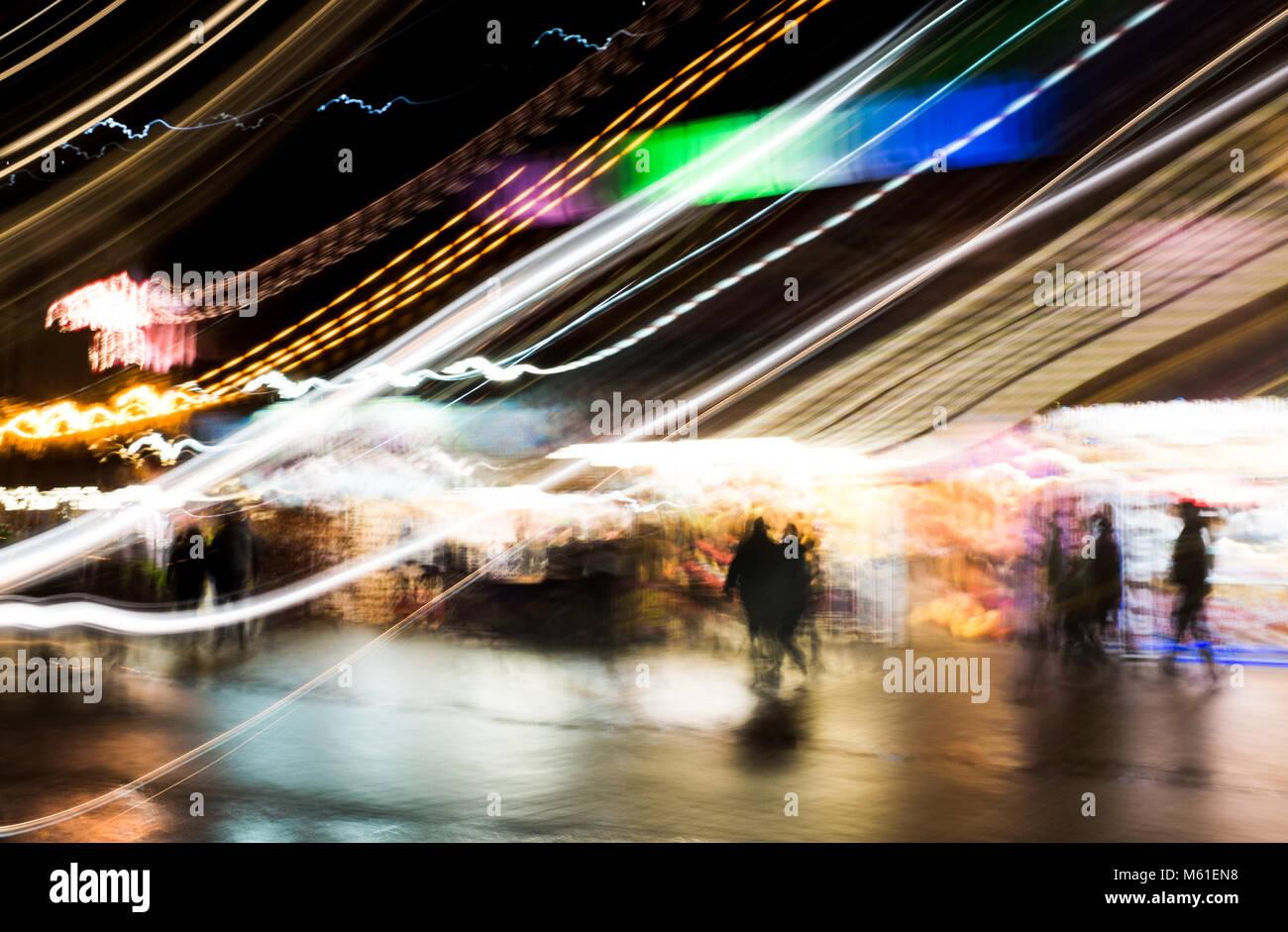 Blackpool Illuminations - Stock Image