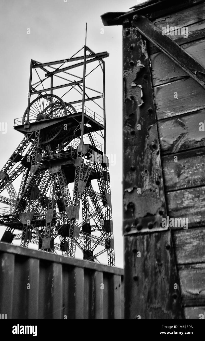 Astley Green Colliery Museum - Stock Image