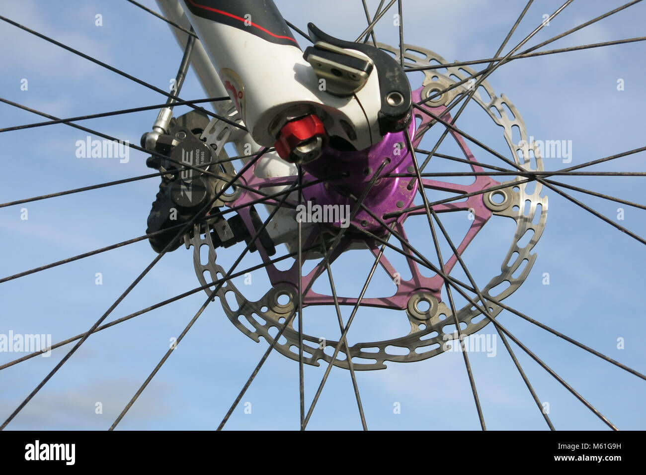 Wire Spokes Stock Photos & Wire Spokes Stock Images - Alamy