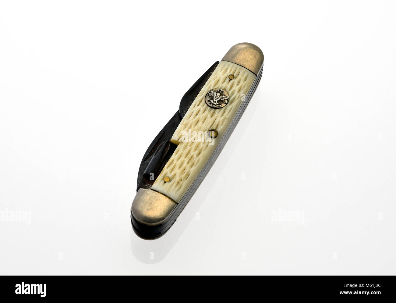 Boy Scouts Pocket Knife - Stock Image