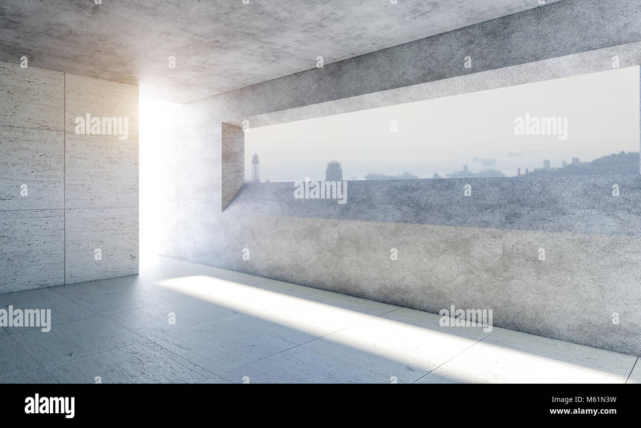 Abstract Empty Interior Background Big Stock Photos & Abstract Empty ...