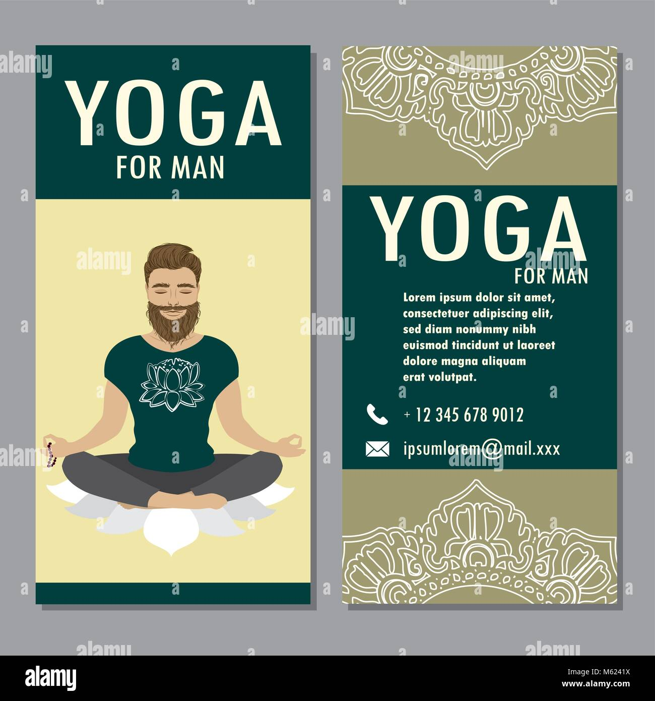 Yoga Banner Template Stock Photos & Yoga Banner Template Stock ...