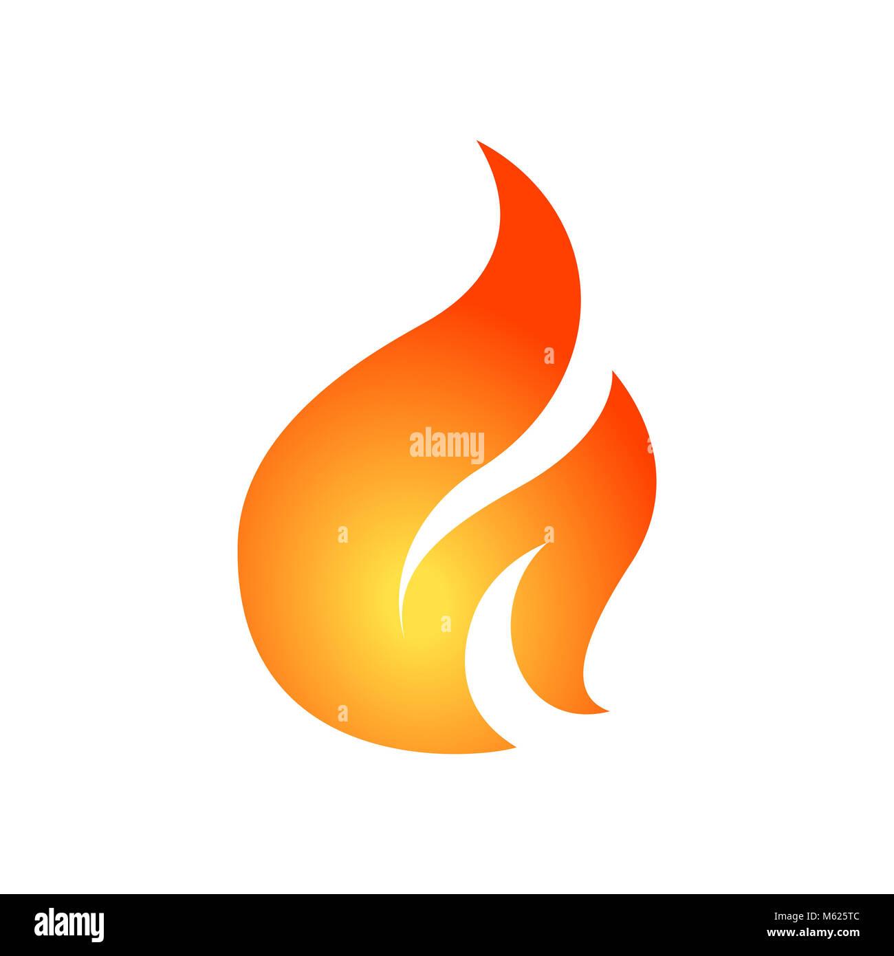 Fire Flame Logo Design Vector Stock Photos & Fire Flame Logo Design ...