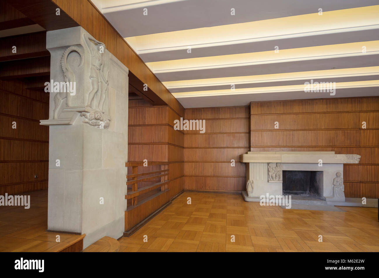 Siegfried Wagner House, Bayreuth, Bavaria, Germany - Stock Image