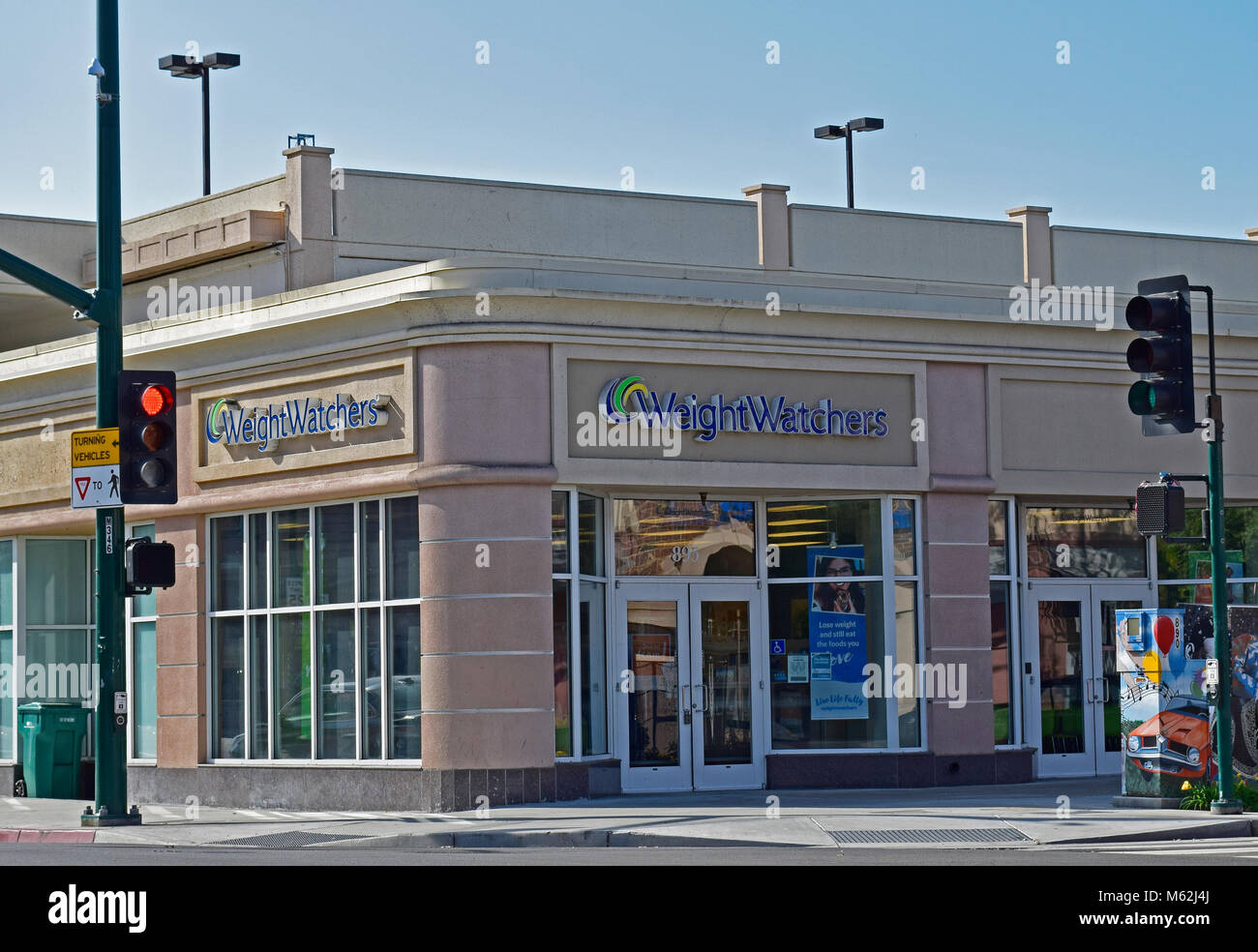 Weight Watchers store, Hayward, California - Stock Image