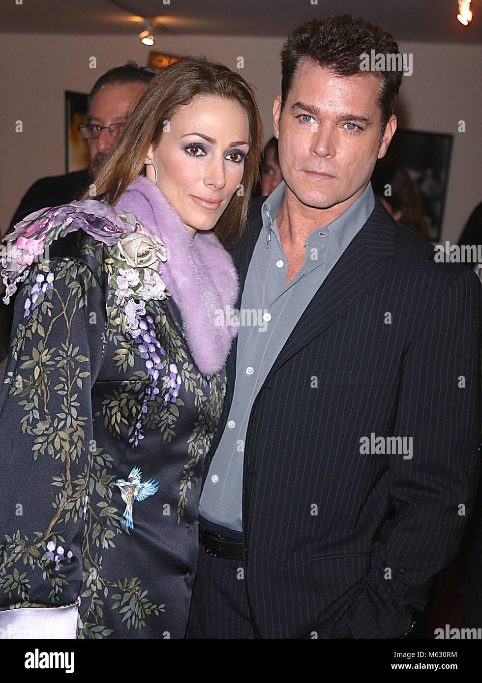 New York City 2002 FILE PHOTO RAY LIOTTA AND WIFE MICHELLE ...