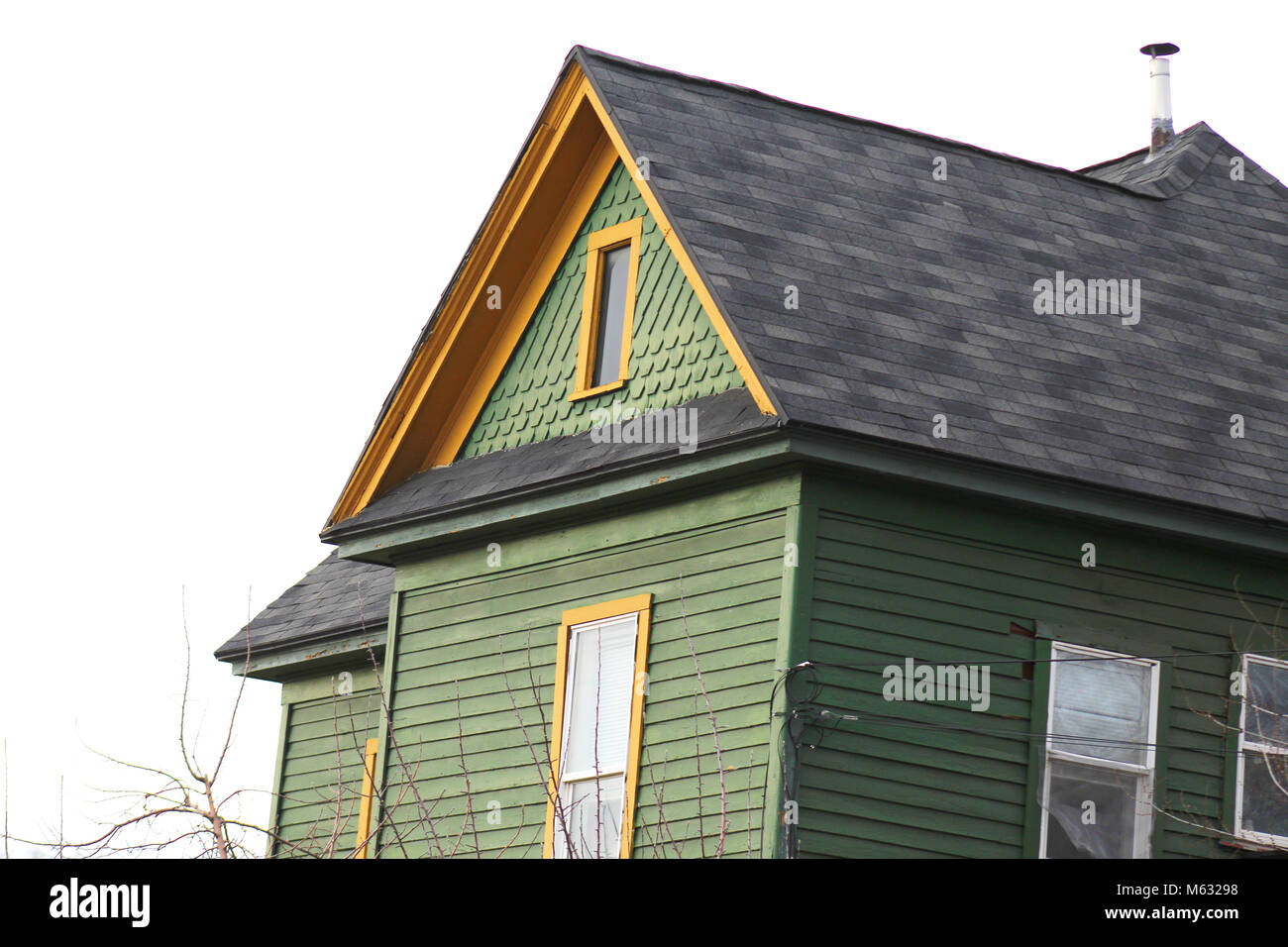 photo of a house in the Avenues SEC Utah. - Stock Image