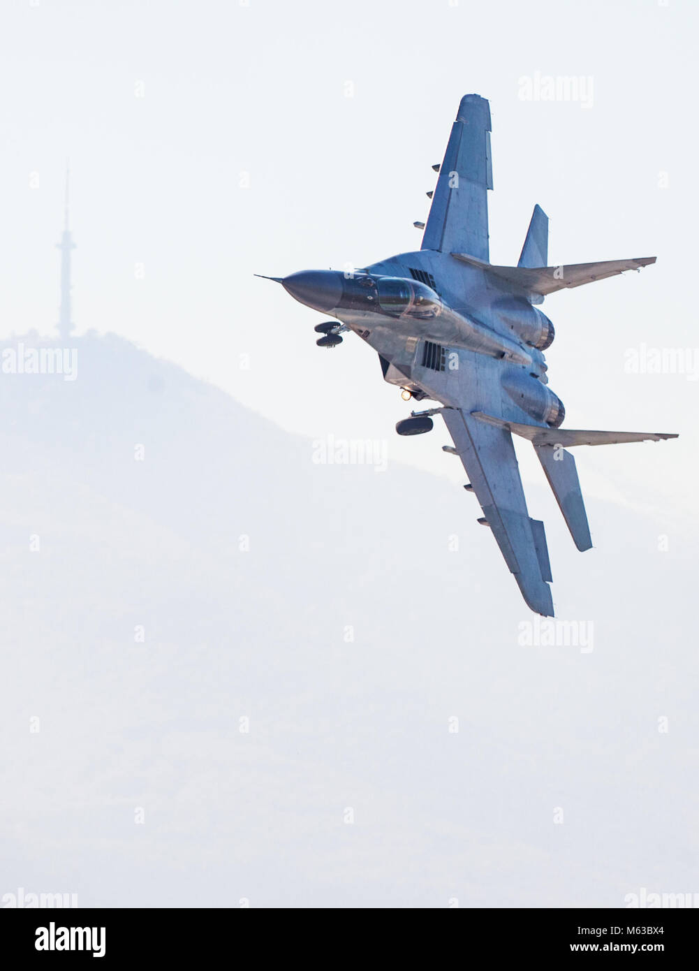 Fast Fighter Jet Flight - Stock Image