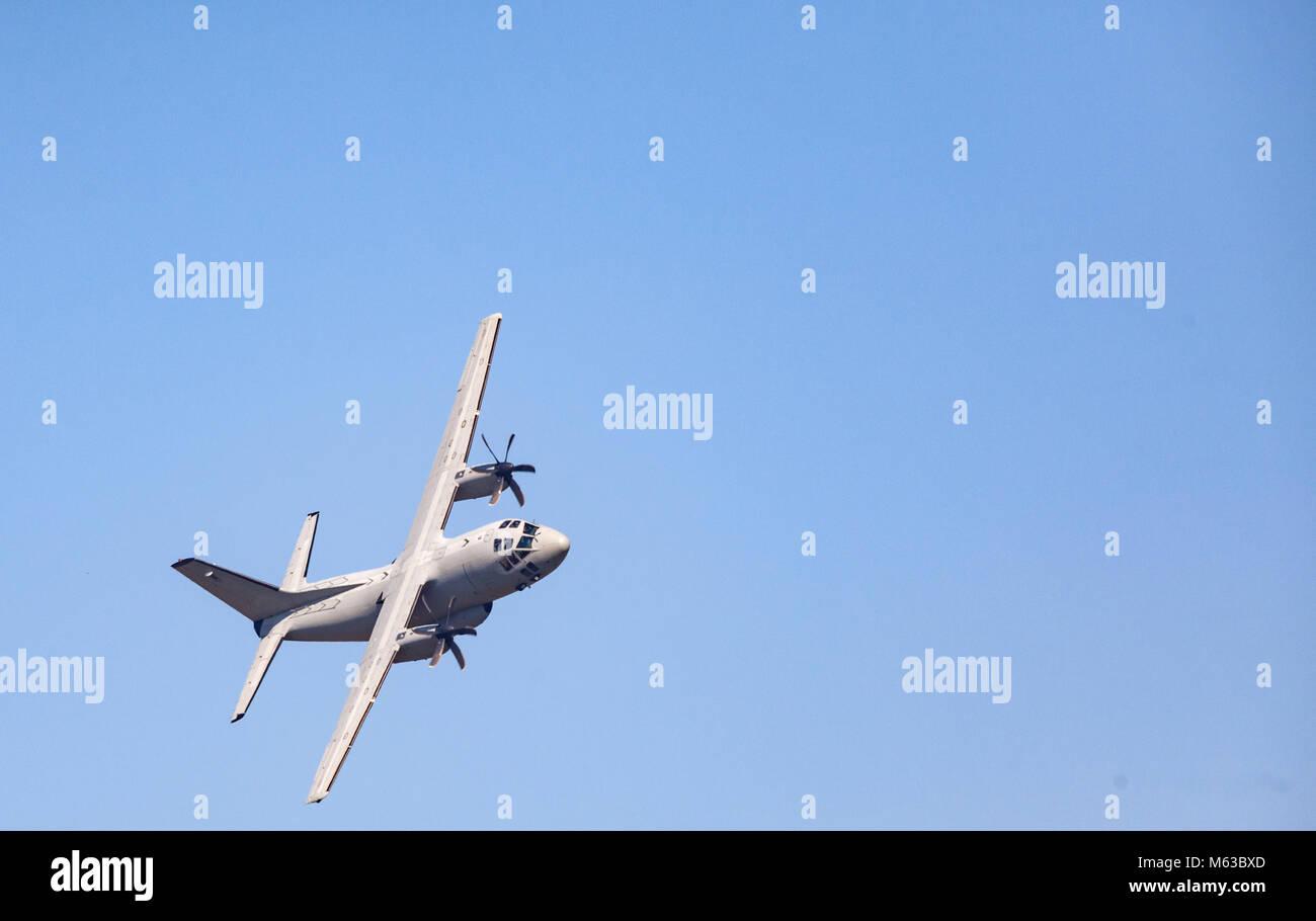Military Cargo Plane - Stock Image