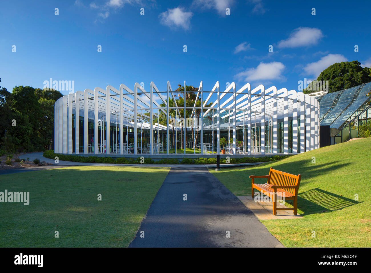 The Calyx in the Royal Botanic Gardens, Sydney, New South Wales, Australia - Stock Image