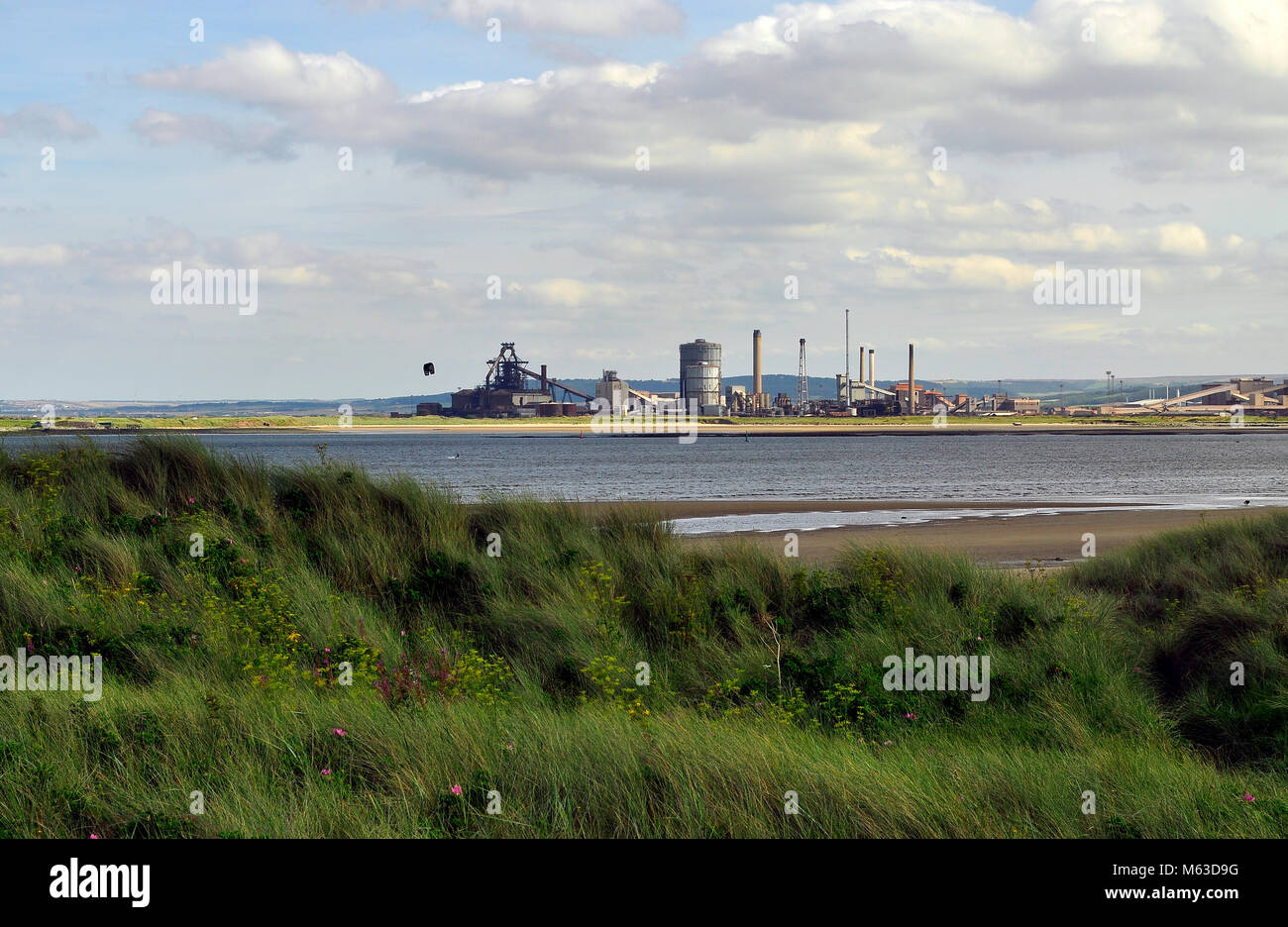 Steelworks at Redcar - Stock Image