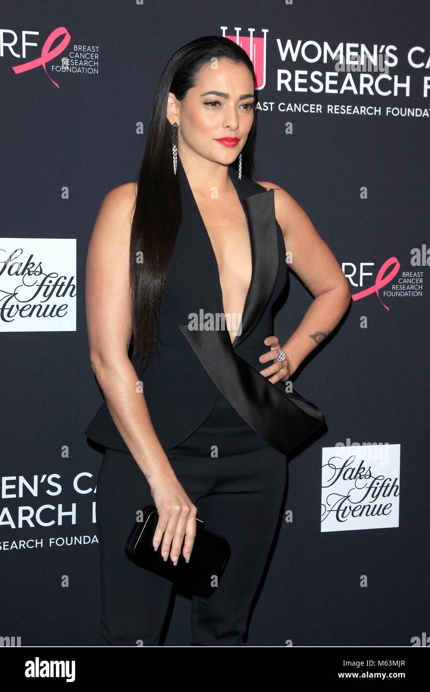 Natalie Martinez attending 'The Women's Cancer Research Fund's an Unforgettable Evening' Benefit Gala at Beverly Stock Photo