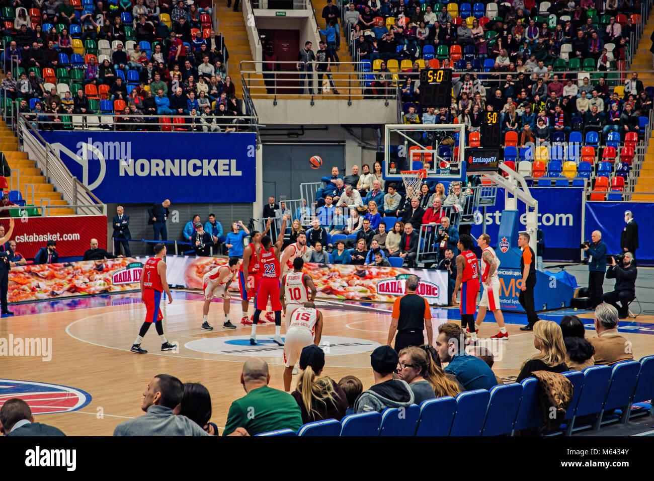 cska moscow basketball