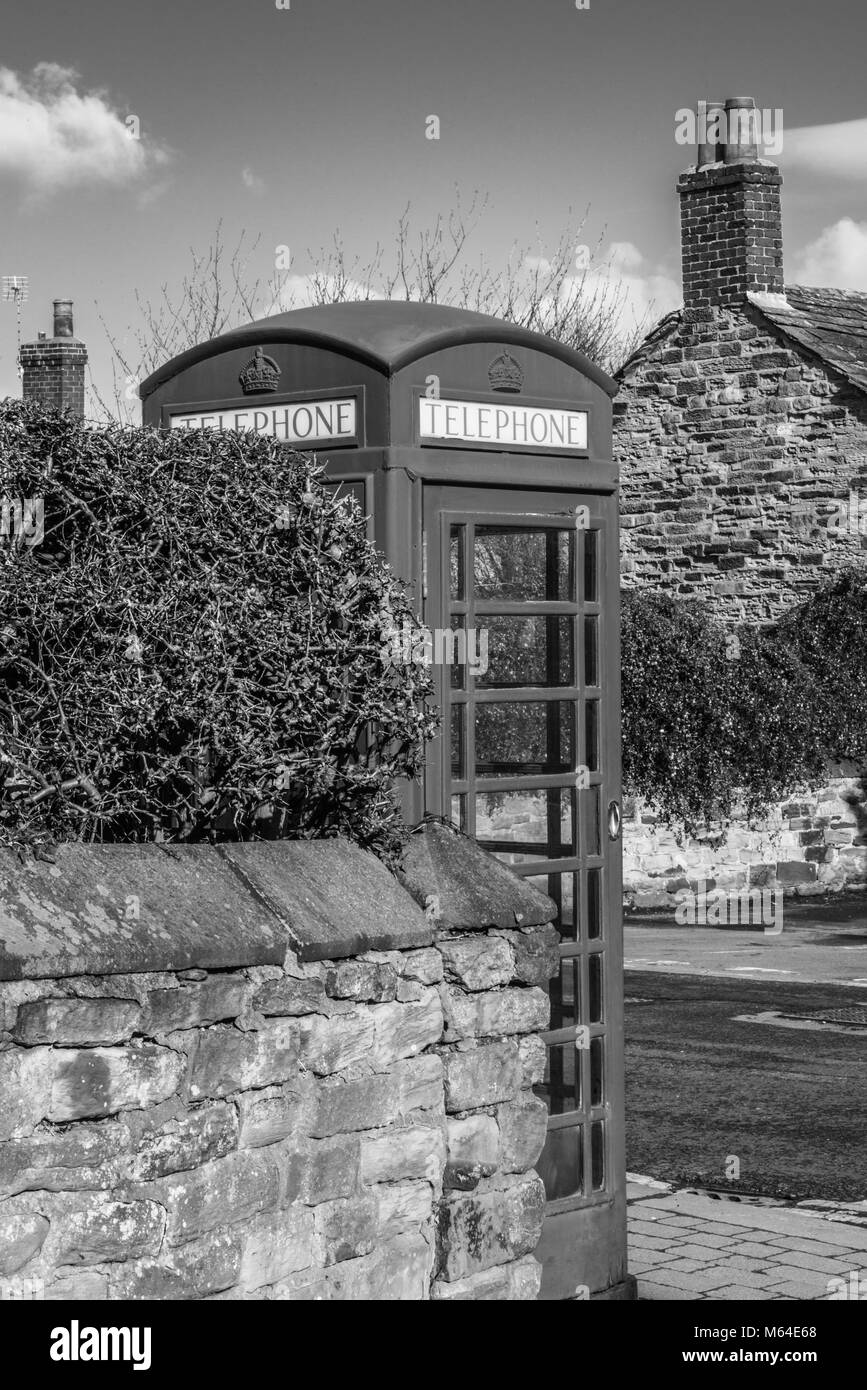 village in mono Wentworth  Yorkshire  Ray Boswell - Stock Image