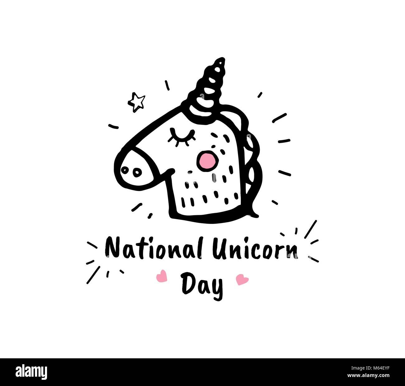 Cartoon Magical Unicorn Stock Photos & Cartoon Magical