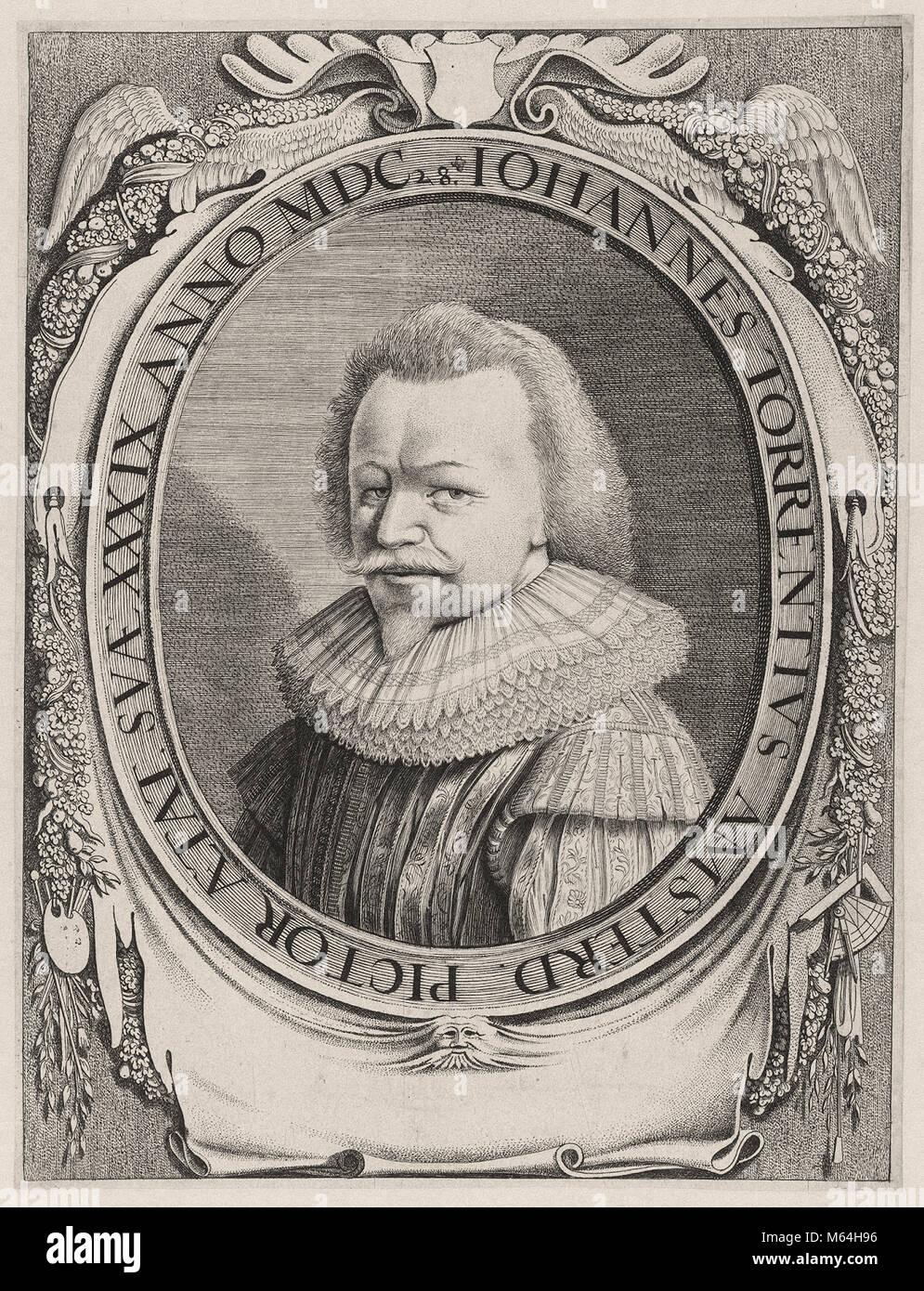 Johannes van der Beeck -  Johannes Torrentius - Stock Image