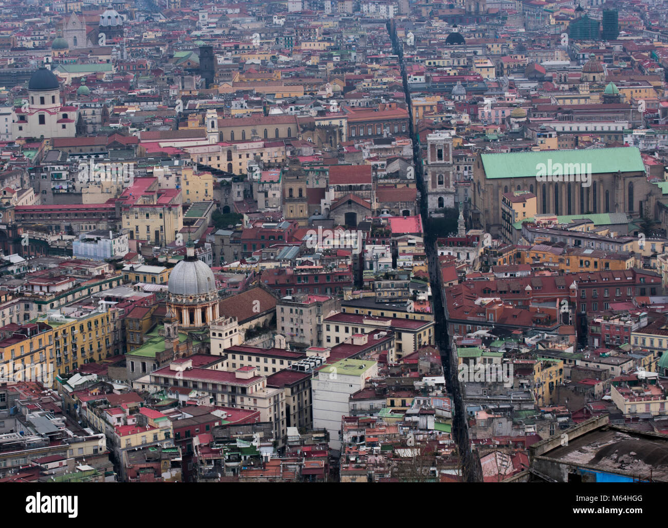 Spaccanapoli, Naples, Italy - Stock Image