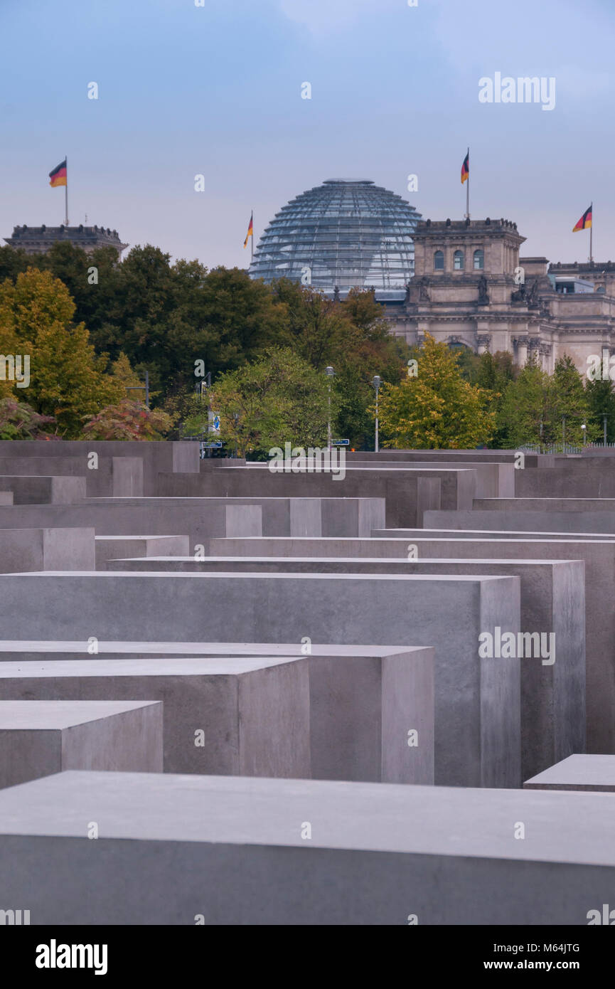 Holocaust Mahnmal, Berlin, Deutschland, Europa - Stock Image