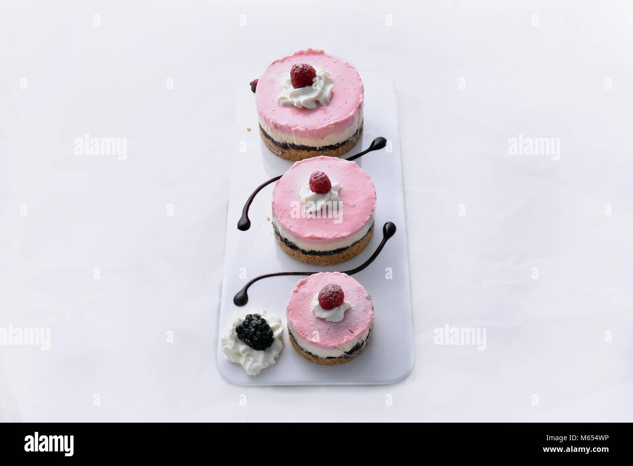 Oreo Cheesecake Dessert - Stock Image