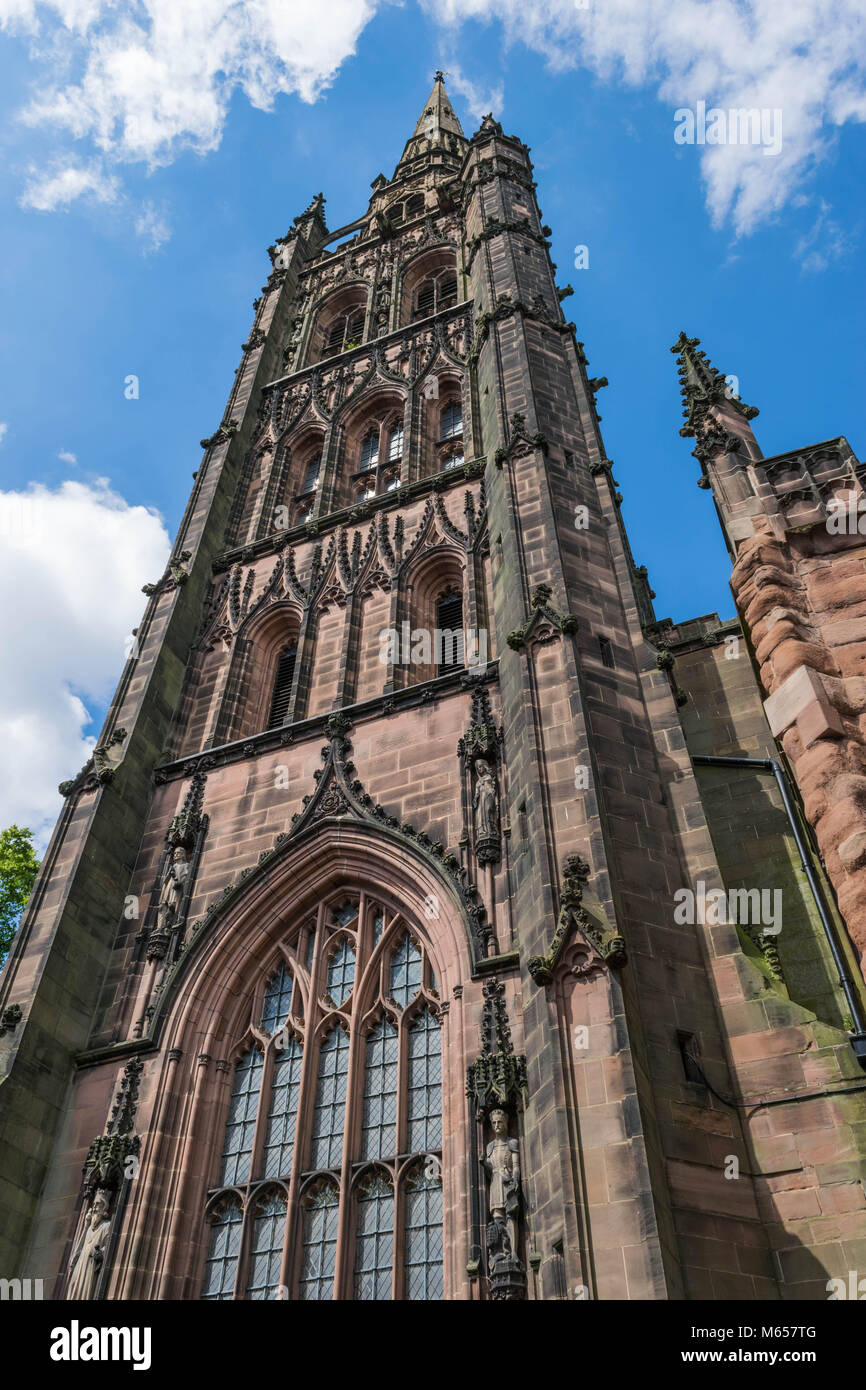 Holl Trinity Church, Broadgate, Coventry, England. Stock Photo
