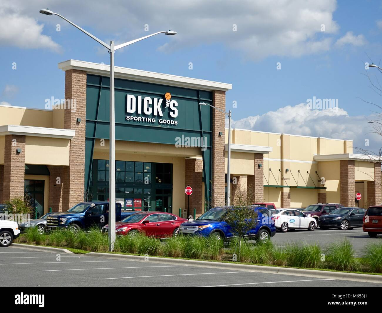 Something is. dicks sporting goods flourescent