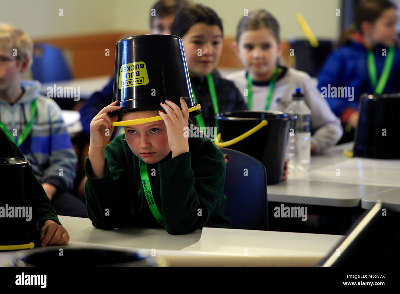 Inspire education festival, Nelson, New Zealand - Stock Image