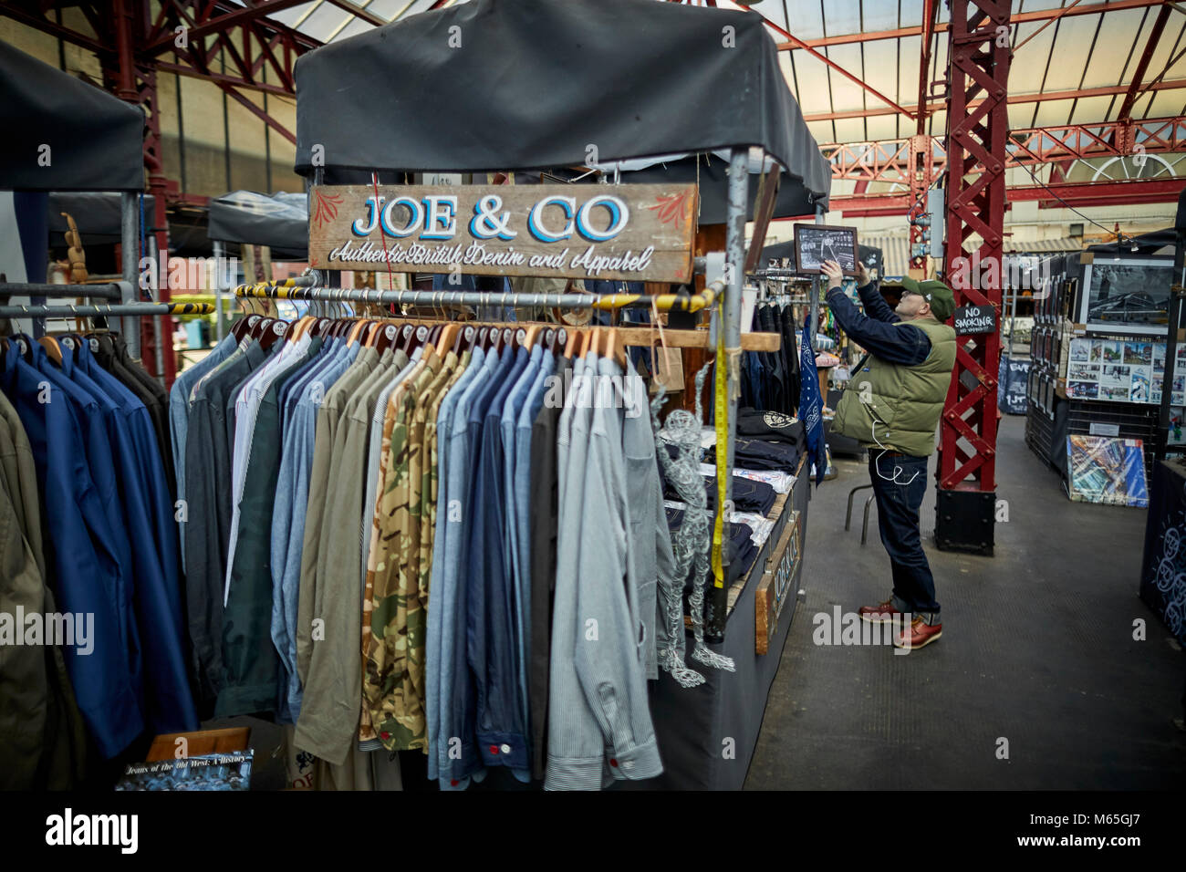 Joe's clothing store