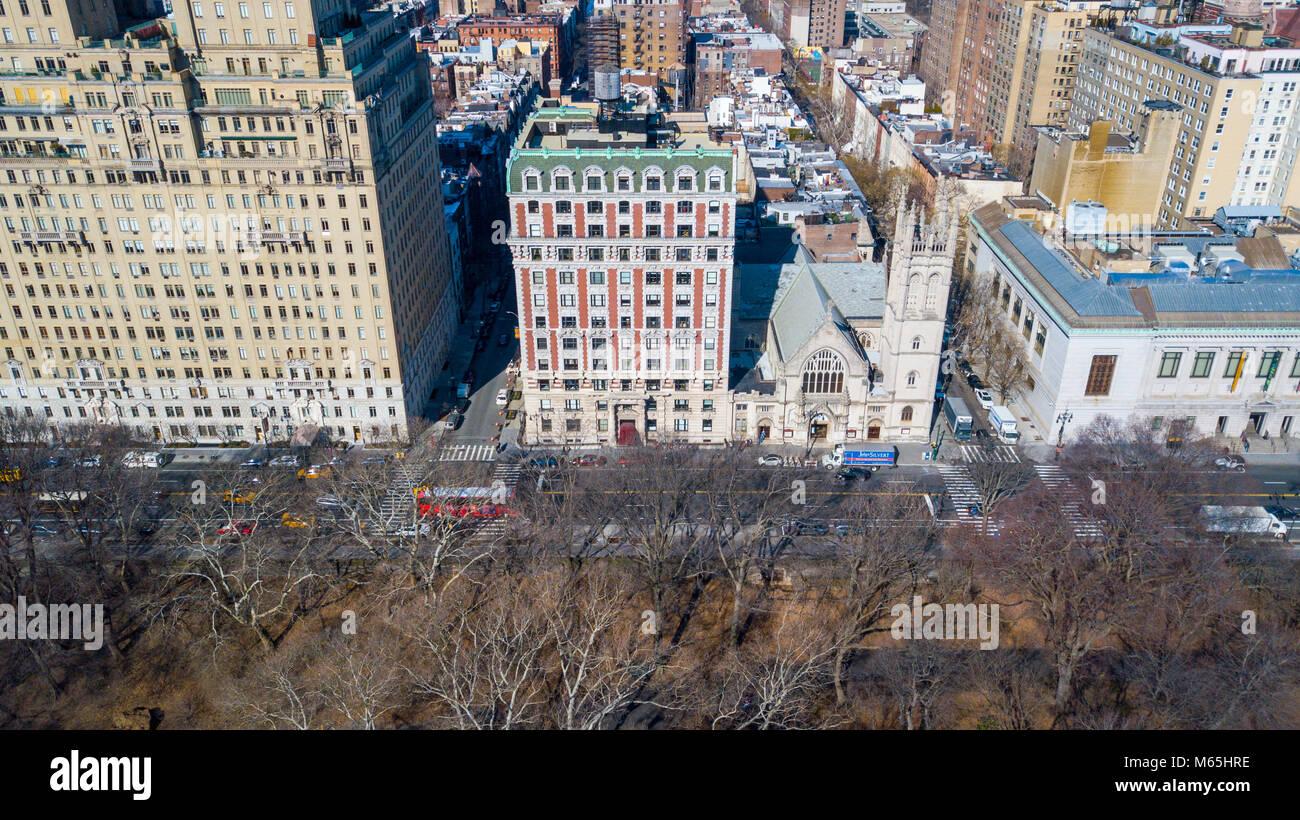 Kenilworth Apartments, 151 Central Park West, Manhattan, New York, NY 10023 - Stock Image