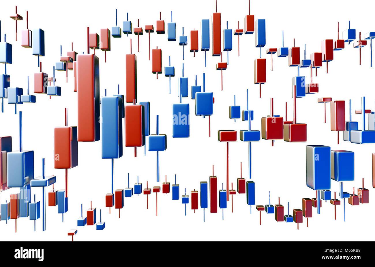 Stock market analysis data, trend charts, K chart Stock