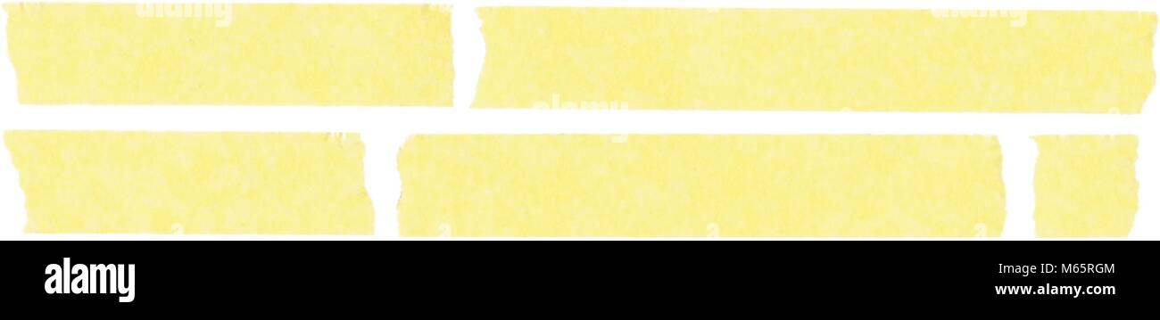 Masking Tape High Detail Set - Stock Vector