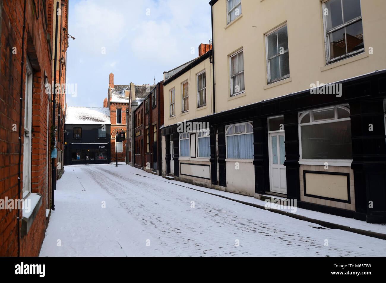 black swan public house Dagger Lane,prince street, old town, kingston upon Hull, Hull, UK - Stock Image