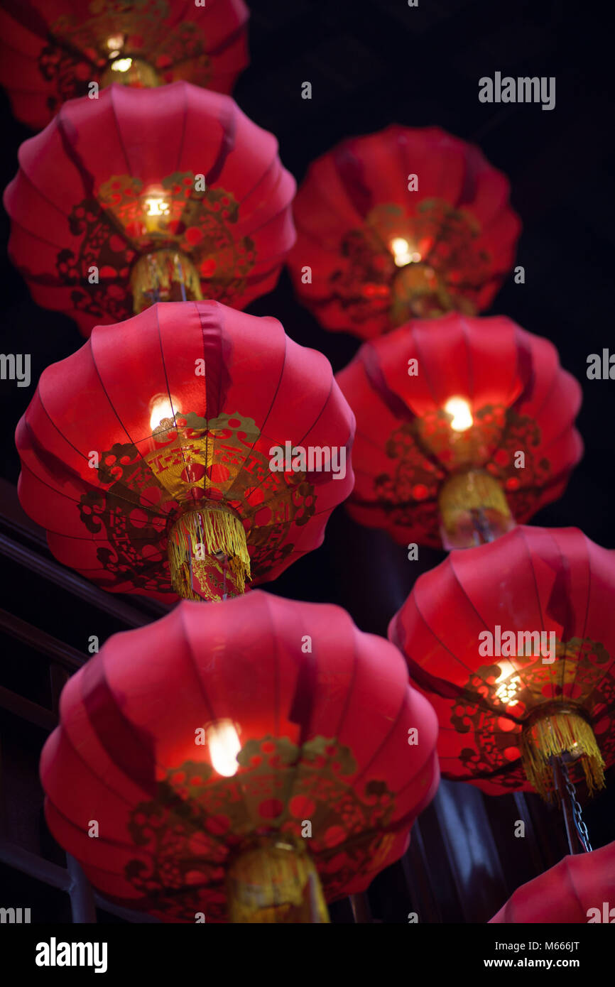 China Traditional Festival Lantern Lamp Stock Photo Alamy